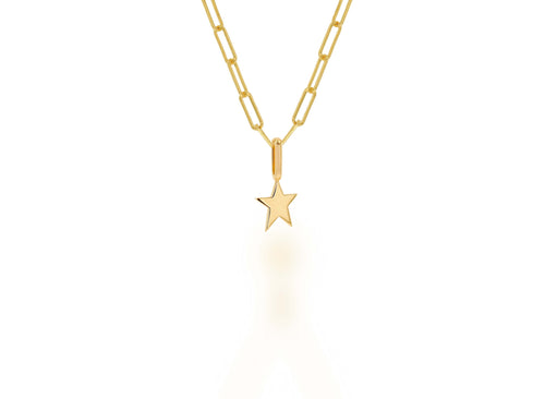 Mini Gold Star Charm