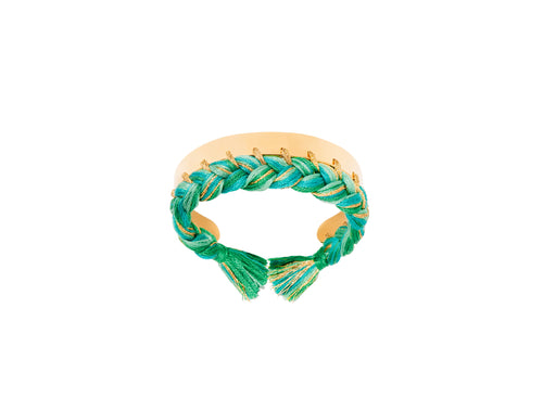 Green Emerald Copacabana Bracelet