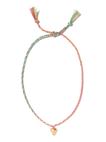 Cali necklace (Rainbow gold)