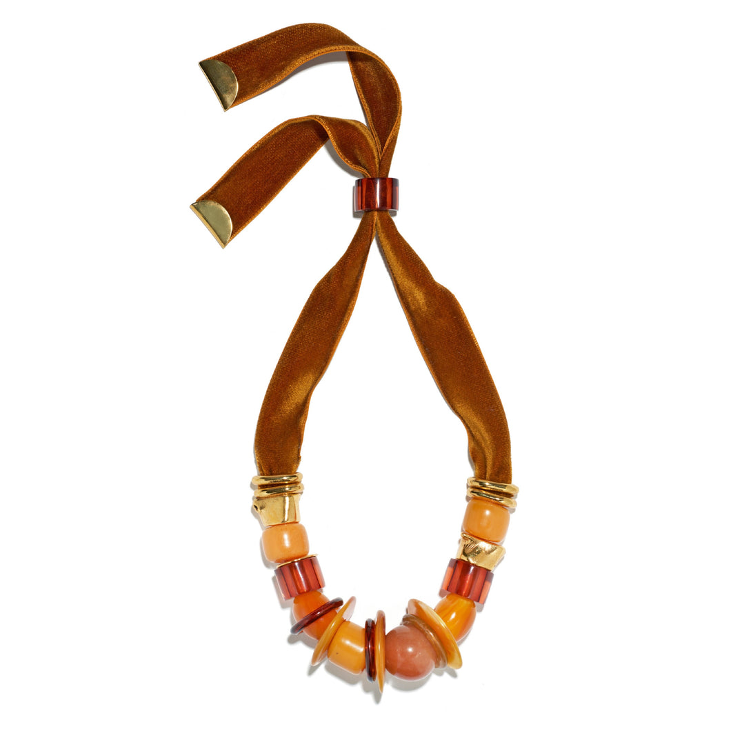 Amber Savanna Necklace
