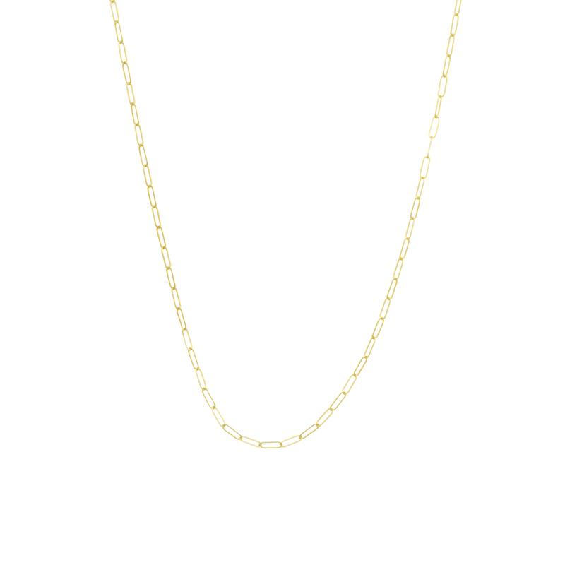 Gold Filled Flat Link chain