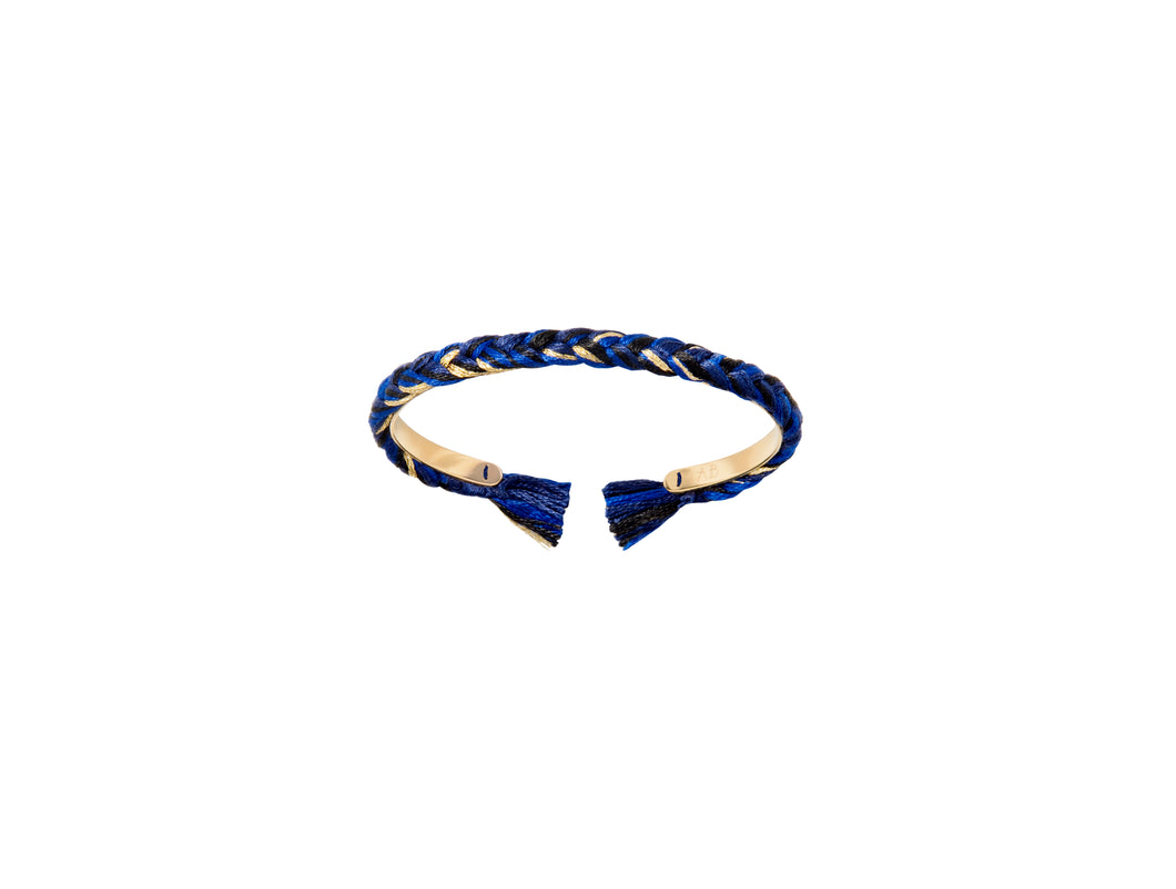 Navy Blue Thin Copacabana Bracelet