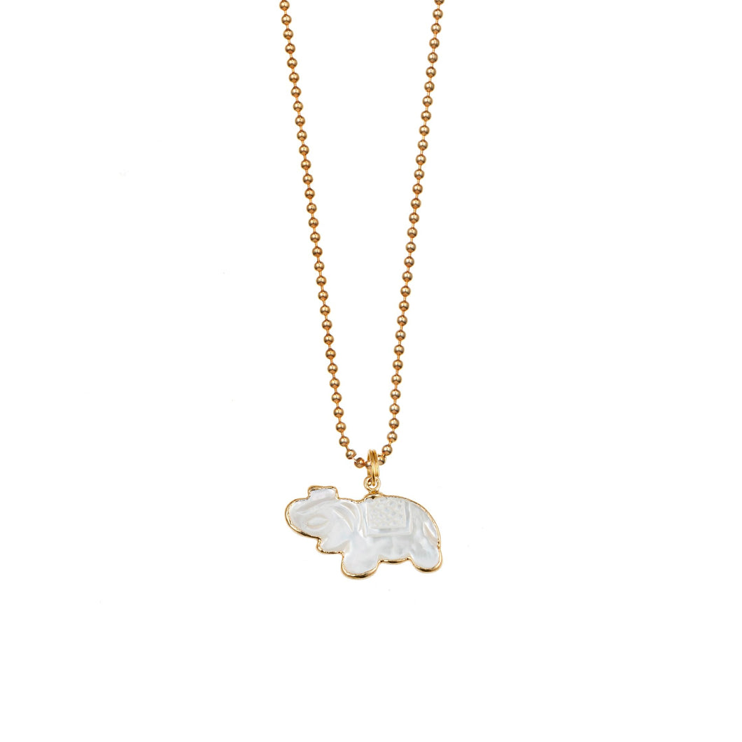 Acceptance Mother of Pearl Elephant