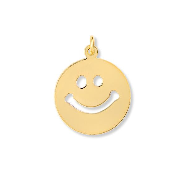 Large Smiley Face Charm
