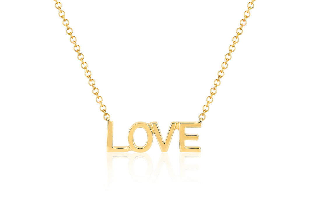 Mini Gold Love Necklace
