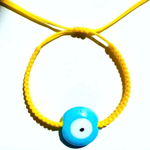 Pineapple Ceramic Evil Eye Bracelet