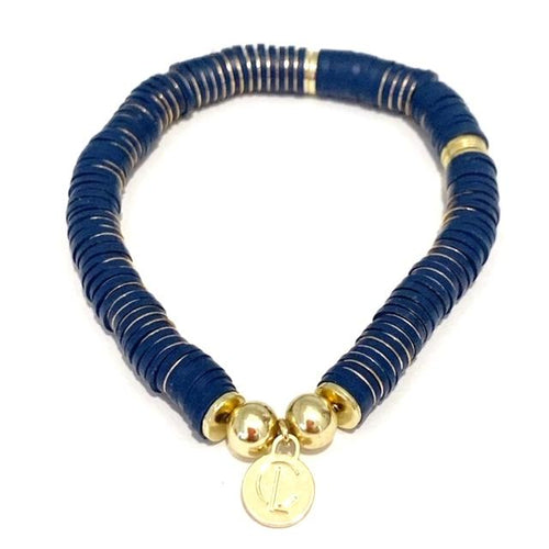 Seaside Bracelet, Navy