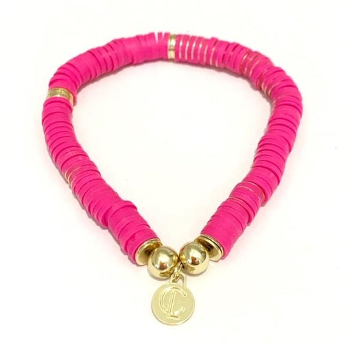 Seaside Bracelet, Bright pink