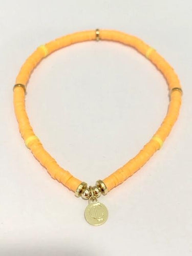 Seaside Skinny Bracelet Orange
