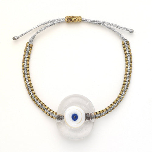 Transparent Evil Eye Bracelet