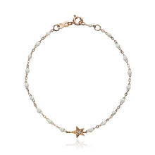 Diamond Star and Gold Bracelet