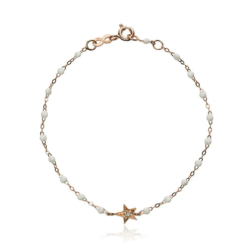 Diamond Star Rose Gold Bracelet