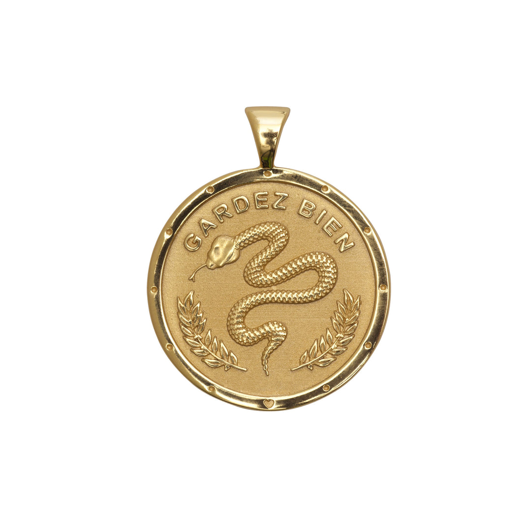 Protect Small Pendant Coin