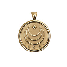 Lucky Small Pendant Coin