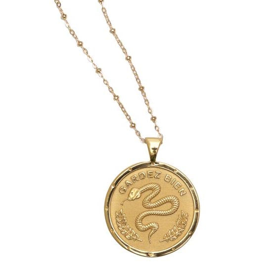Protection Coin Pendant