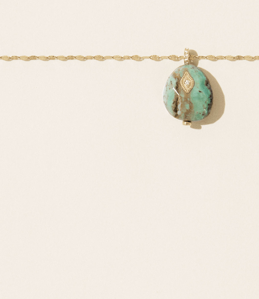 Turquoise Arles Necklace