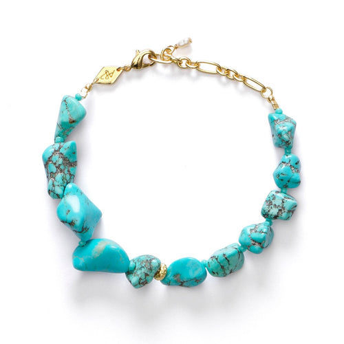 Beach Cocktail Bracelet Aqua