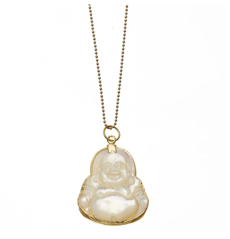 Acceptance Mother of Pearl Buddha