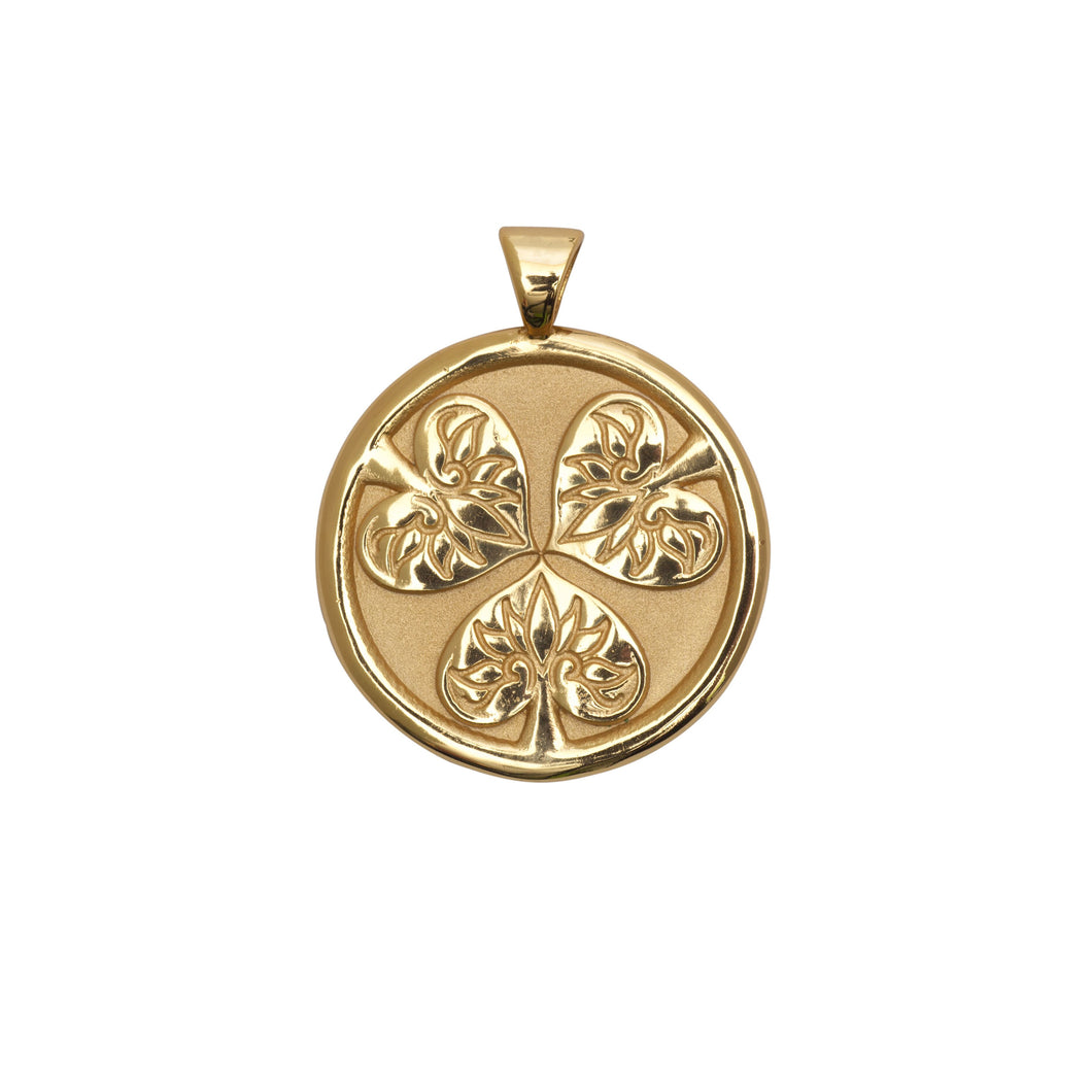 Joy Small Pendant Coin