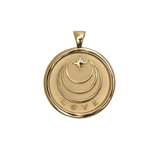 Love Small Pendant Coin