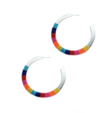 Rainbow Madison Hoops