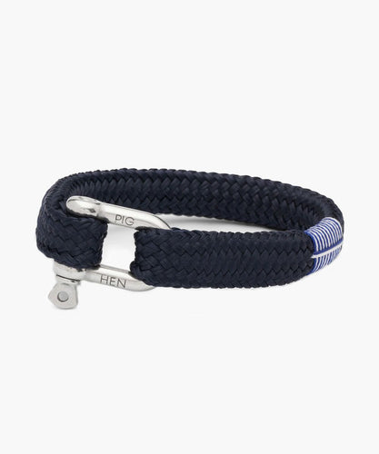 Gorgeous George - Navy/Silver