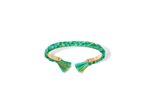 Green Emerald Thin Copacabana Bracelet