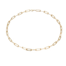 Rectangular Chain Necklace