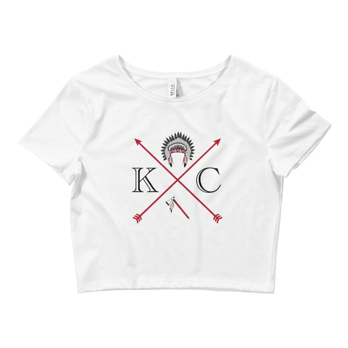 K.C Chief Women's Crop Tee