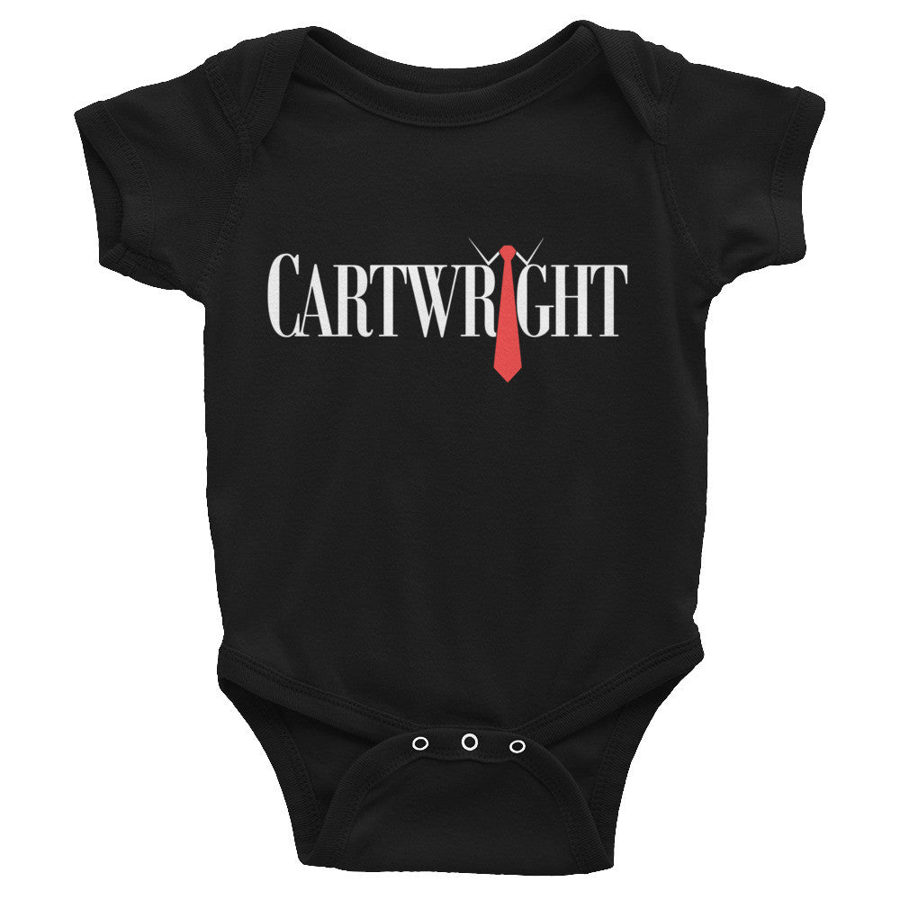 Black Classic Cartwright Infant onesie