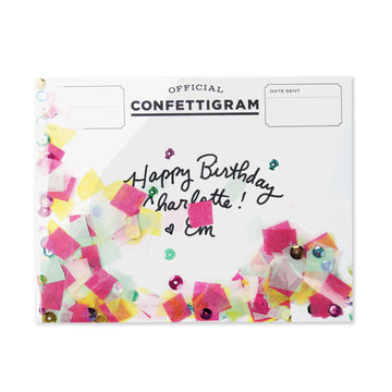 Birthday Brights Confettigram-Greeting Cards-Miss Rosie Co.