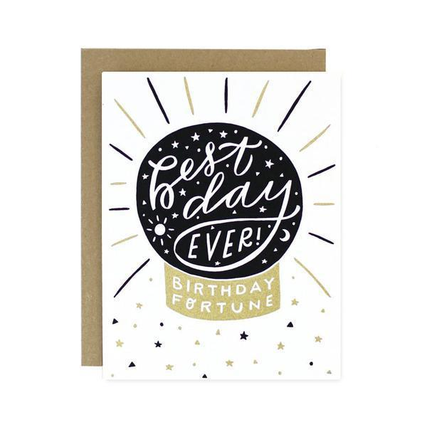 Birthday Fortune Card-Greeting Cards-Miss Rosie Co.