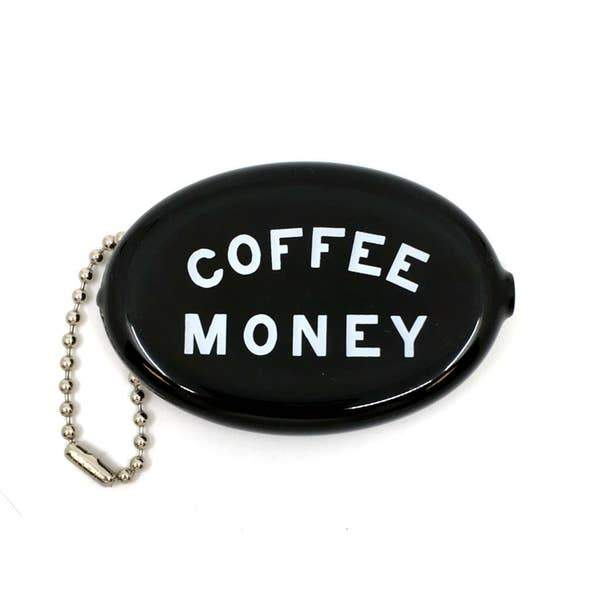 Coffee Money Coin Pouch-Coin Pouch-Miss Rosie Co.
