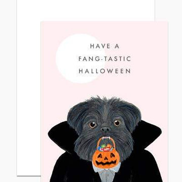 Fang-tastic Halloween Card-Greeting Cards-Miss Rosie Co.