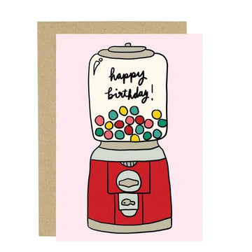 Gumball Birthday Card-Greeting Cards-Miss Rosie Co.