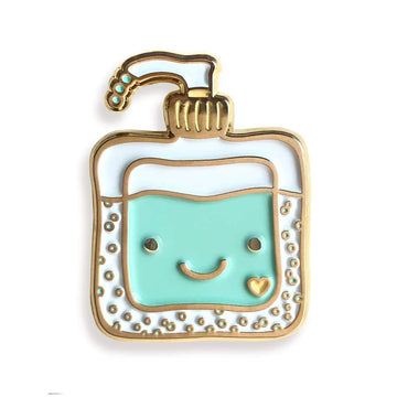 Happy Sanitizer Enamel Pin-Enamel Pins-Miss Rosie Co.
