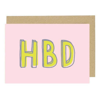 HBD Card-Greeting Cards-Miss Rosie Co.