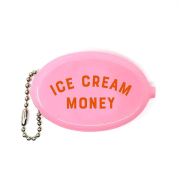 Ice Cream Money Coin Pouch-Coin Pouch-Miss Rosie Co.