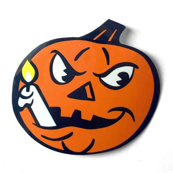 Jack-O-LanternSticker-Stickers-Miss Rosie Co.