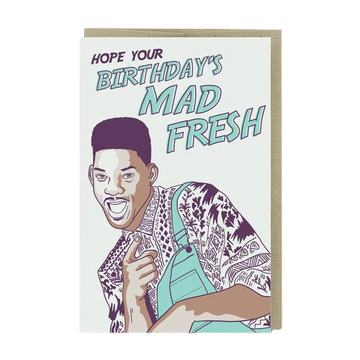 Mad Fresh Birthday Card-Greeting Cards-Miss Rosie Co.