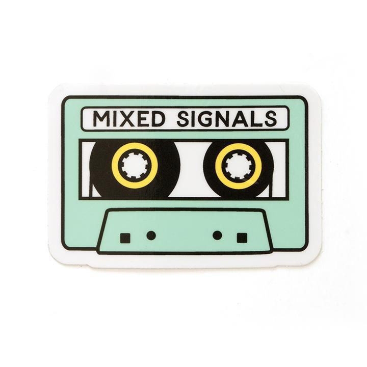 Mixed Signals Sticker-Stickers-Miss Rosie Co.