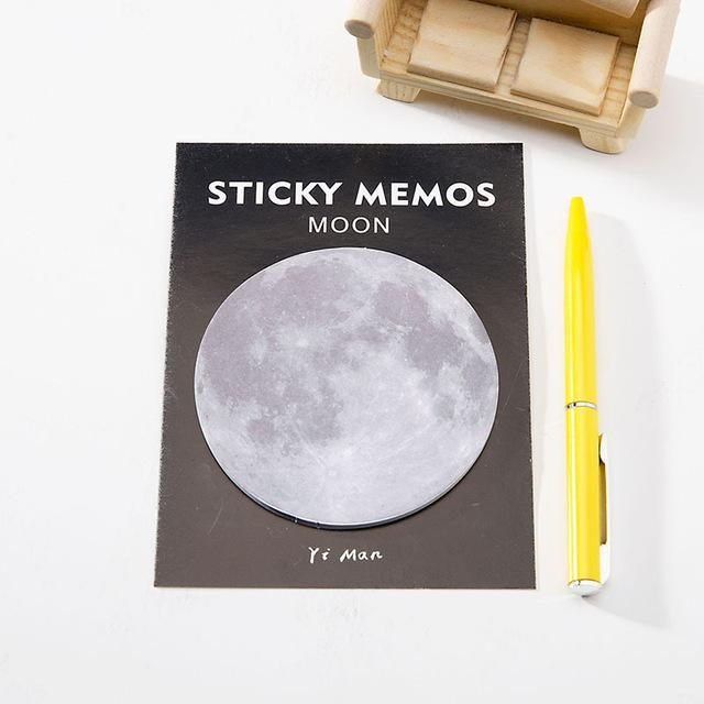 Moon Sticky Notes-Sticky Notes-Miss Rosie Co.