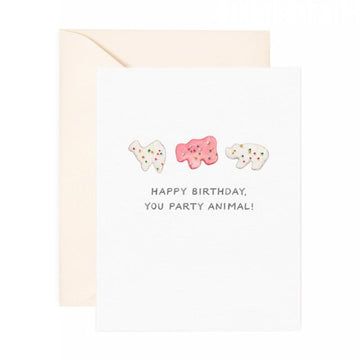 Party Animal Birthday Card-Greeting Cards-Miss Rosie Co.