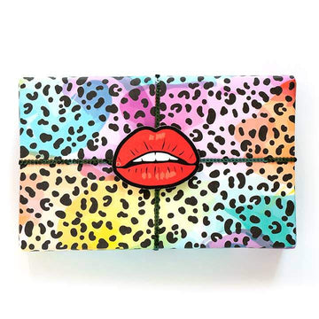 Rainbow Leopard Gift Wrap-Gift Wrap-Miss Rosie Co.