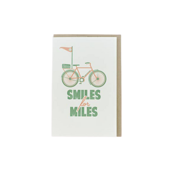Smiles for Miles Card-Greeting Cards-Miss Rosie Co.