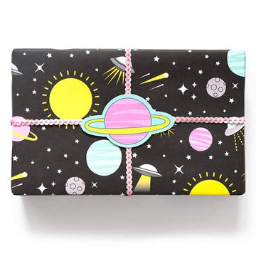 Space Invasion Gift Wrap-Gift Wrap-Miss Rosie Co.
