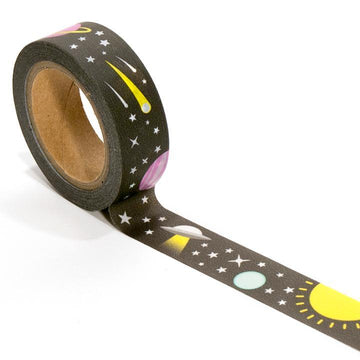 Space Star Washi Tape-Washi Tape-Miss Rosie Co.