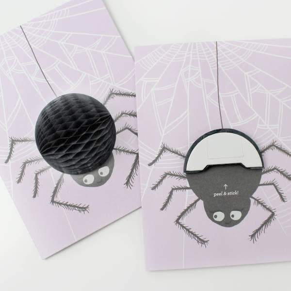 Spider Pop-up Card-Greeting Cards-Miss Rosie Co.