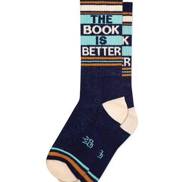 The Book Is Better Socks-Socks-Miss Rosie Co.