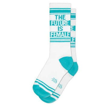 The Future is Female Socks-Socks-Miss Rosie Co.